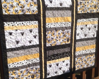 Sheep Crib Quilt