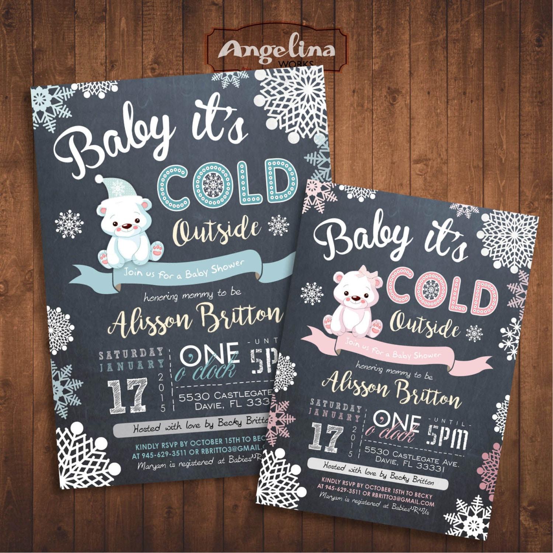 Polar Bear Baby Shower