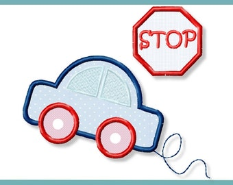 Auto car application 4 x 4 5 x 7 embroidery file embroidery pattern 2 pattern