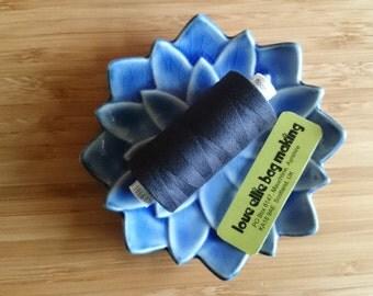 SEWING THREAD Midnight Blue Dark Navy Blue Moon polyester thread - 1 spool - All Purpose Sewing Thread - Coats Moon Thread - Colour - M090