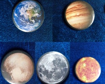 Solar System Bundle 25mm Badges