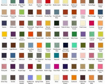 FELT - 20  Wool Felt Sheets - Choose Any 20 - Wool Blend Felt 114 Colours to choose from located in AUSTRALIA