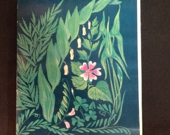 Herbs. Set postcards 32 pcs. Russia, USSR. 1980