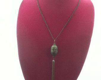OM Tassel Necklace