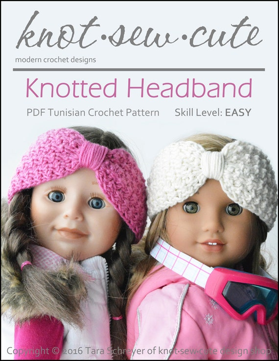 Knotted Headband Crochet Pattern