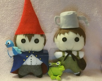 Over the garden wall chibi plushies