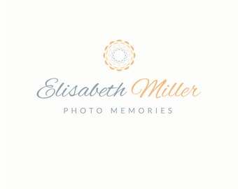 Photography Logo Design - Premade Photographer Logo Design, Shutter Logo Design, Photography Business Branding, Floral Logo, Modern Logo