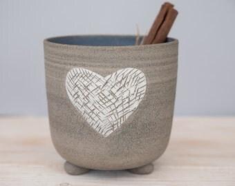 Utensil holder, kitchenware, ceramic kitchen utensil holder, toothbrush dryer, ceramic toiletry, wedding gift, made for order