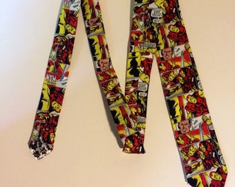 Iron Man Panel Necktie