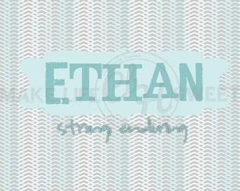 Ethan 8x10 Printable