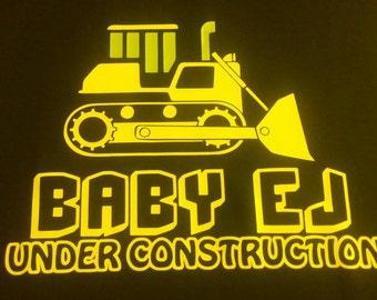 Under Construction Announcement Shirt