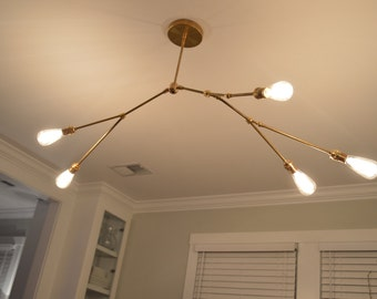 5 bulb branch light