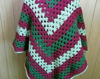 """Crocheted Afghan """"Victoriana"""""""