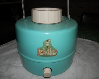 Turquoise Vintage Jubilee Picnic Jug ***Free Shipping
