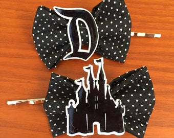 Disney Castle Inspired Bobby Pins- Set of 2