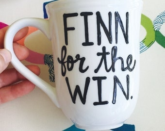 Gilmore Girls Mug- Finn for the win- - Finn- Life and Death Brigade-  logan Rory- In Omnia Paratus- gilmore girls quote gift