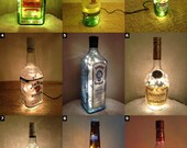 Alcohol Lighting Bottle Lamps - SELECT ONE
