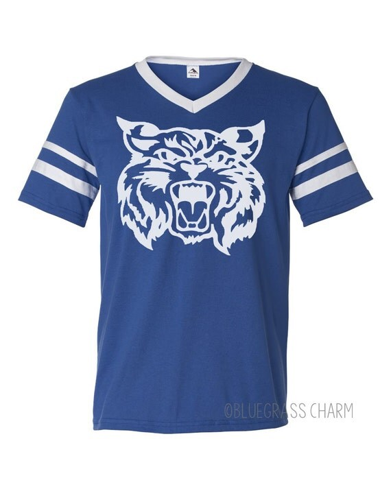 Vintage football kentucky wildcat shirt for Custom t shirts lexington ky