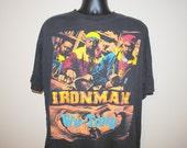 1996 Ghostface Killah Ironman RARE Vintage 90's Classic Wu-Tang Clan East Coast Hip Hop Rap Tee Bootleg Concert Tour T-Shirt