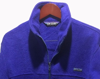 PATAGONIA Blue Fleece Zip Up Cardigan Pullover Men's Size M