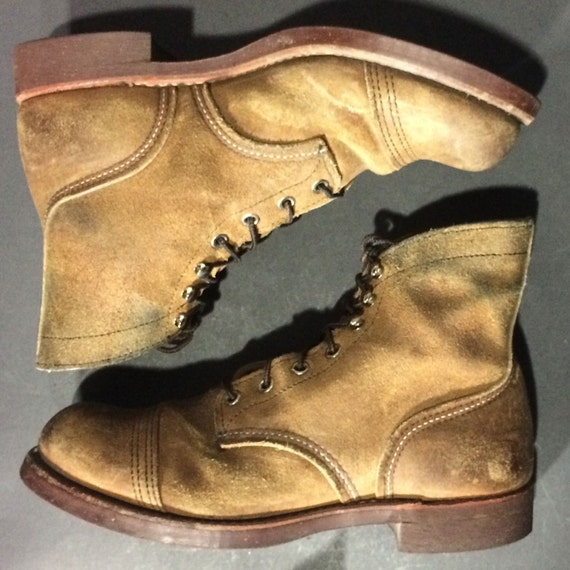 Red Wing 174 8113 Iron Ranger Brown Hawthorn Muleskinner Leather