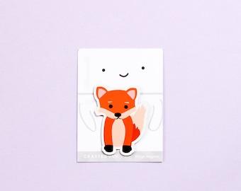 Fox Fridge Magnet