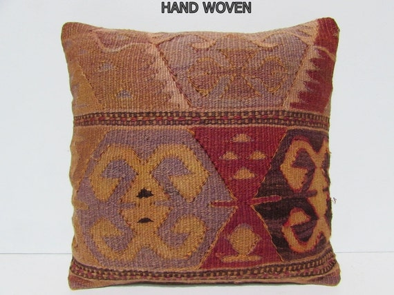 Outdoor Moroccan Floor Pillows : rustic pillow case 18x18 bohemian pillow floor pillow cover