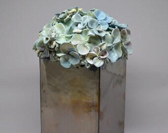 Hydrangea ceramic bouquet