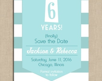 Together Forever Save the Date: Digital File