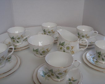 Vintage Bone China English Tea Set