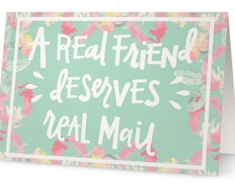 Real mail cards (Set of 5)