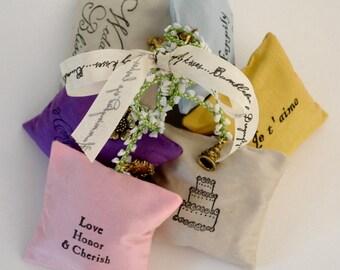 Wedding favor lavender filled sachets - 6