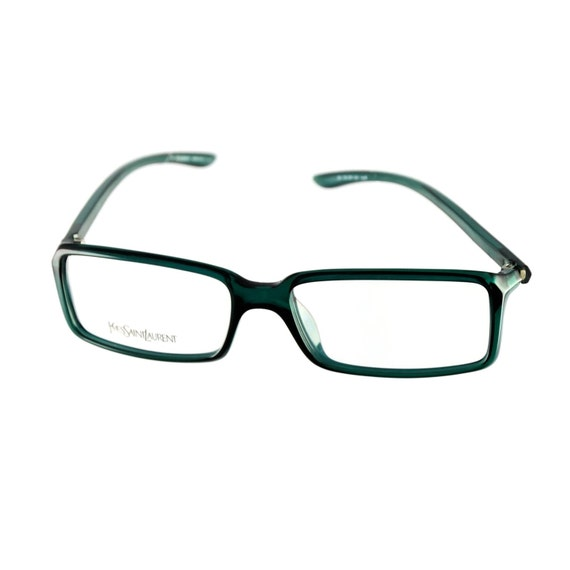 Yves Saint Laurent Frame Eyeglasses : Yves Saint Laurent Eyeglasses YSL 2101 8H5 Dark Green