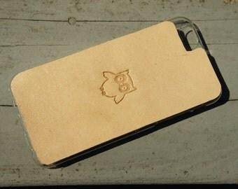 Leather iPhone 6s Case / iPhone 6 Case - Cute Owl