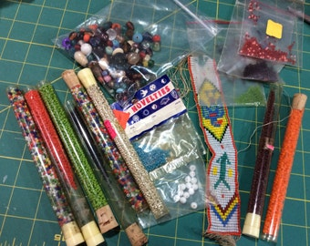 beads....lots of beads! ....craft supplies
