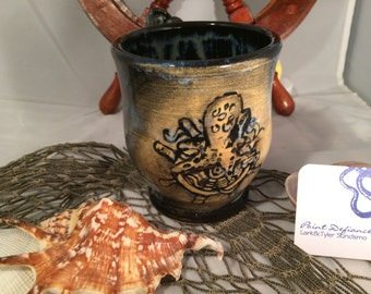 Octopus and helms wheel Mug