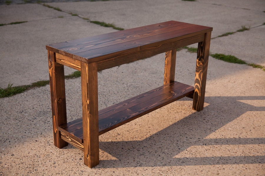 48 Sofa Table Solid Wood Farmhouse Sofa Table