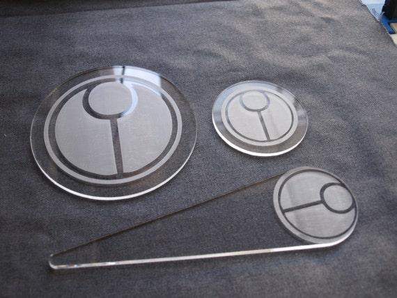 Warhammer 40k 4000 plastic blast templates pack tau plastic like this item pronofoot35fo Choice Image