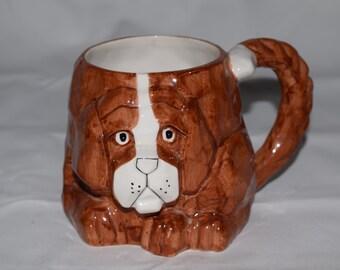 Dog Face Mug 3D
