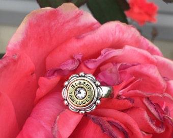 Dainty bullet ring
