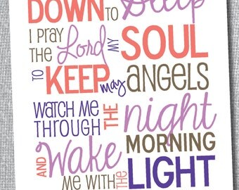Bedtime Prayer- Digital Print