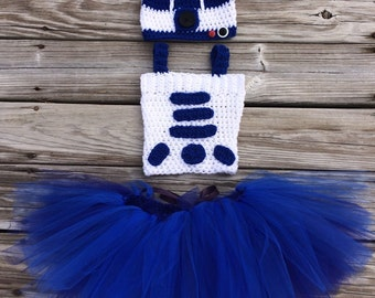 Handmade R2d2 outfit