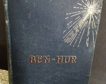 Ben Hur 1880 Edition - for The Bibliophile in Your Life