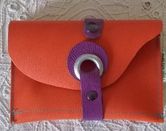 tobacco/leather Briefcase case Orange
