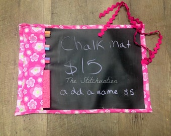Chalk Mat for colouring great for travel!