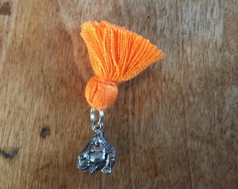 Laughing Buddha with tassel for your pocket