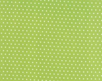 1 yard VINTAGE PICNIC by Bonnie and Camille for Moda Fabrics Spot green