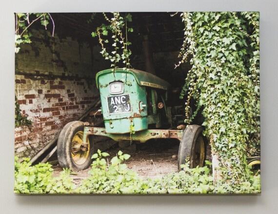 John Deere Baby Gifts Uk : Original photo canvas vintage tractor john deere