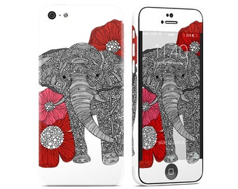 The Elephant by Valentina Ramos - iPhone 5C Skin - Sticker Decal