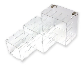 ABC Acrylic Display Case(L+M+S)Shelf_High Quality, Easy connection, Decoration